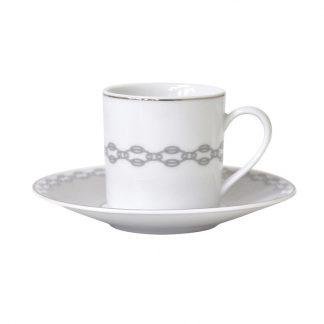 Bernardaud Loft Coffee Cup And Saucer