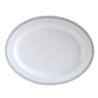 Bernardaud Loft Oval Platter 15in