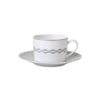 Bernardaud Loft Tea Cup And Saucer 5.1 Oz
