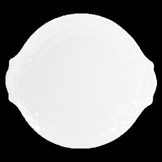 """Bernardaud Louvre Cake Plate With Handles - Round 11"""""""