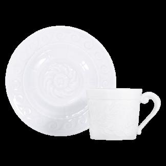 Bernardaud Louvre Coffee Cup And Saucer