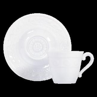 Bernardaud Louvre Coffee Cup & Saucer Extra