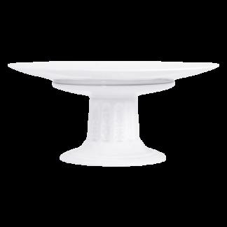 "Bernardaud Louvre Footed Cake Plate 10.5"" X 6.5"""
