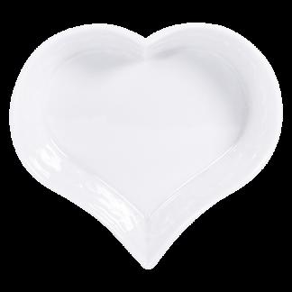 "Bernardaud Louvre Heart Dish 5.1"""