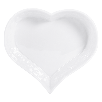 "Bernardaud Louvre Heart Dish 5.9"""