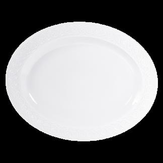 """Bernardaud Louvre Oval Platter 15"""""""