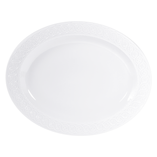"""Bernardaud Louvre Oval Platter 19"""""""