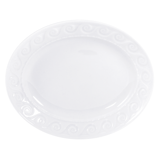 """Bernardaud Louvre Relish Dish 9"""" X 5"""""""