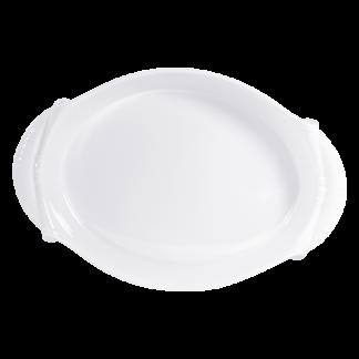 "Bernardaud Louvre Roasting Dish - Oval 16"" X 11"" X 2"""