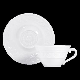 Bernardaud Louvre Tea Cup And Saucer