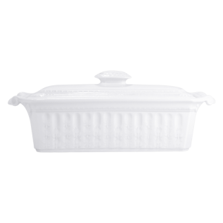 "Bernardaud Louvre Terrine With Cover - Rectangular 14"" X 5"""