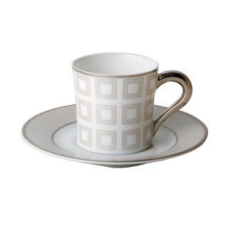 Bernardaud Milo Coffee Cup And Saucer