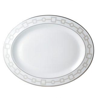 "Bernardaud Milo Oval Platter 15"""
