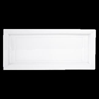 """Bernardaud Naxos Cake Platter Rectangular 16"""""""