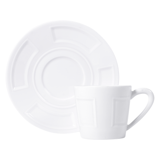 Bernardaud Naxos Coffee Cup And Saucer