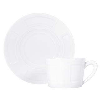 Bernardaud Naxos Tea Cup And Saucer