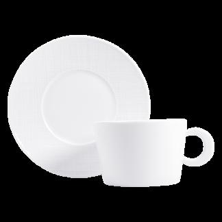 Bernardaud Organza Breakfast Cup & Saucer