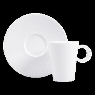 Bernardaud Organza Coffee Cup And Saucer