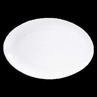 "Bernardaud Organza Oval Platter 15"""