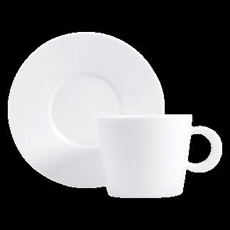 Bernardaud Organza Tea Cup And Saucer