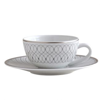 Bernardaud Palace Coffee Cup And Saucer