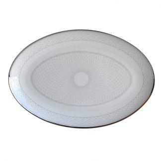 Bernardaud Palace Oval Platter 13''