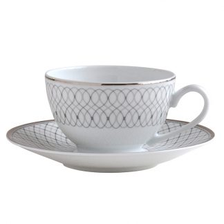 Bernardaud Palace Tea Cup And Saucer