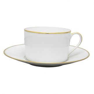 Bernardaud Palmyre Breakfast Cup Saucer