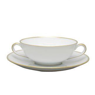 Bernardaud Palmyre Cream Cup And Saucer