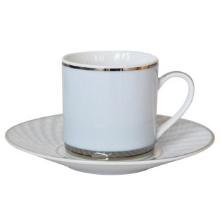 Bernardaud Paradise Coffee Cup And Saucer