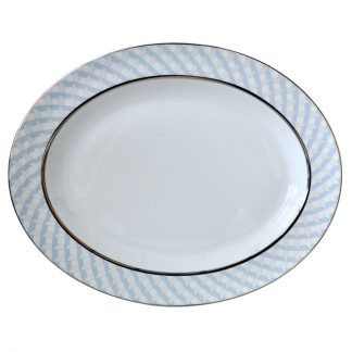 "Bernardaud Paradise Oval Platter 13"""