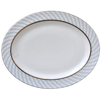 "Bernardaud Paradise Oval Platter 15"""