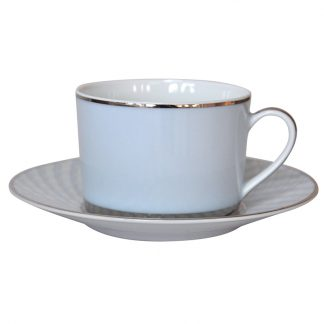 Bernardaud Paradise Tea Cup And Saucer 5.1 Oz