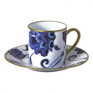 Bernardaud Prince Bleu Coffee Cup And Saucer
