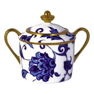 Bernardaud Prince Bleu Sugar Bowl 6c