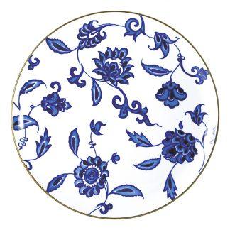 """Bernardaud Prince Bleu Tart Platter - Round 13"""""""