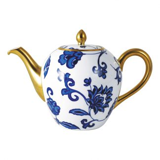 Bernardaud Prince Bleu Tea Pot 12c