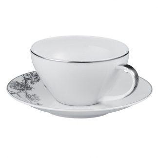 Bernardaud Promenade Tea Cup And Saucer