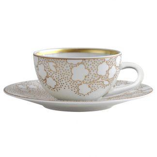 Bernardaud Reve Coffee Cup And Saucer