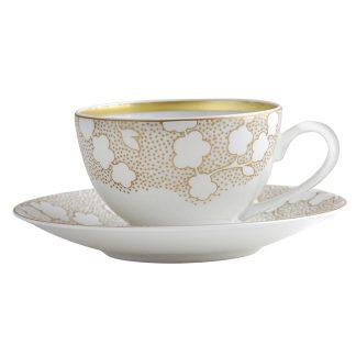 Bernardaud Reve Tea Cup And Saucer
