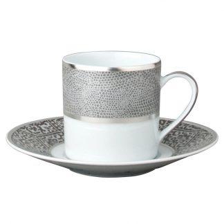 Bernardaud Sauvage Coffee Cup And Saucer