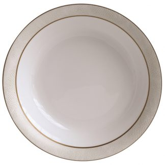 Bernardaud Sauvage Or Open Vegetable Bowl