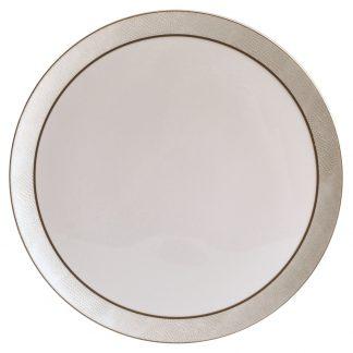 Bernardaud Sauvage Or Tart Platter Round