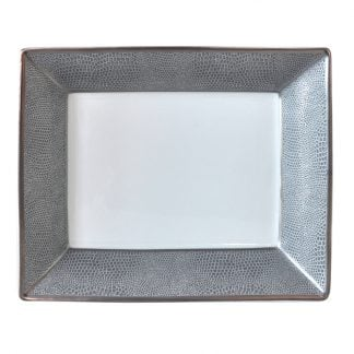 """Bernardaud Sauvage Rectangular Dish 7.9"""" X 6.3"""""""