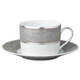 Bernardaud Sauvage Tea Cup And Saucer