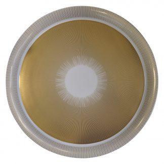 "Bernardaud Sol Large Round Platter 18.9"""