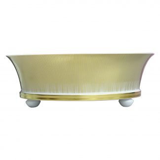 "Bernardaud Sol Medium Coupe H. 4.3"" D. 12.8"""