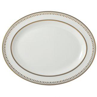 "Bernardaud Soleil Levant Oval Platter 13"""