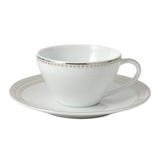 Bernardaud Top Coffee Cup And Saucer