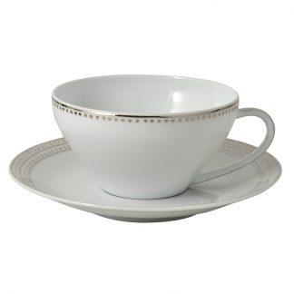 Bernardaud Top Tea Cup And Saucer